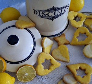 Valentine marathon: The easiest Lemon Biscuits in the world (2/4)