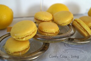 Valentine marathon: heavenly lemon macarons (4/4)