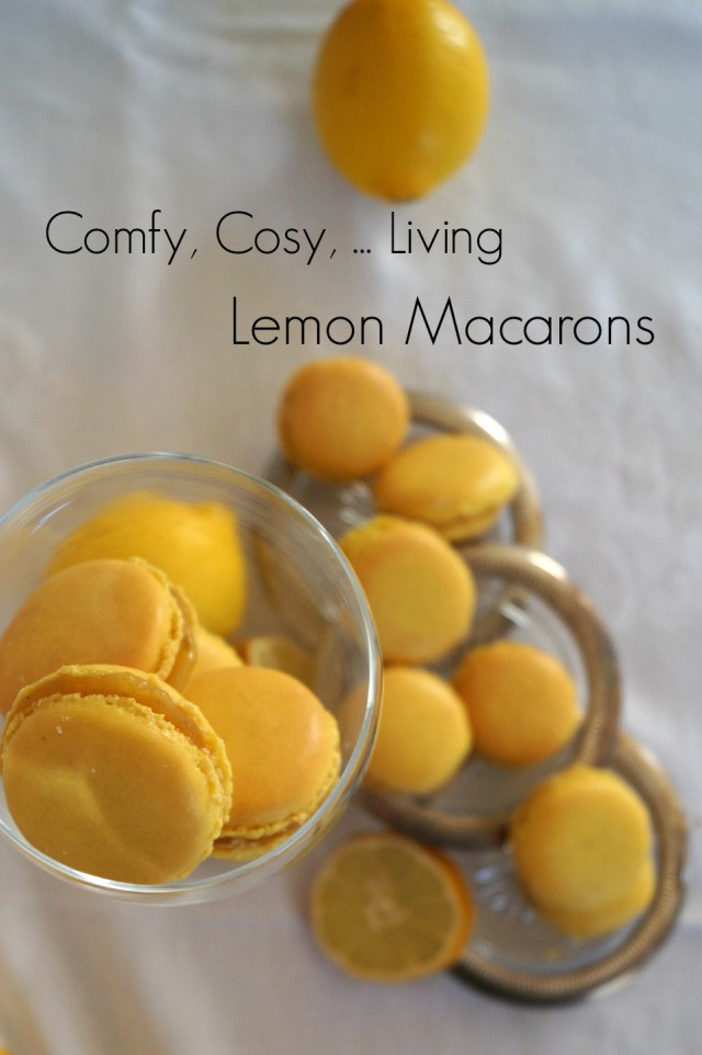 Heavenly lemon Macarons